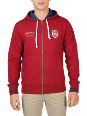 Sudadera Oxford University QUEENS-HOODIE-RED > Oferta Ultimas Unidades  34,99